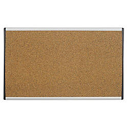 Quartet ARC Colored Cork Cubicle Bulletin