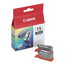 Canon BCI 15BK Black Ink Tanks