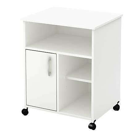 South Shore Axess Printer Cart, Pure White