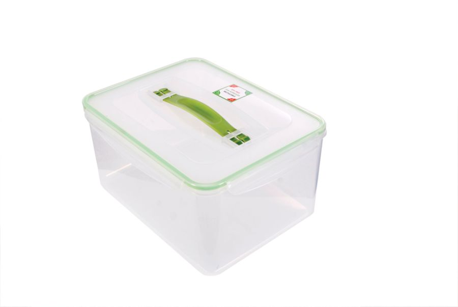 Kinetic Fresh Food Storage Container 237 Oz ClearGreen by Office