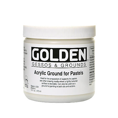 Golden Acrylic Ground For Pastels, 16 Oz