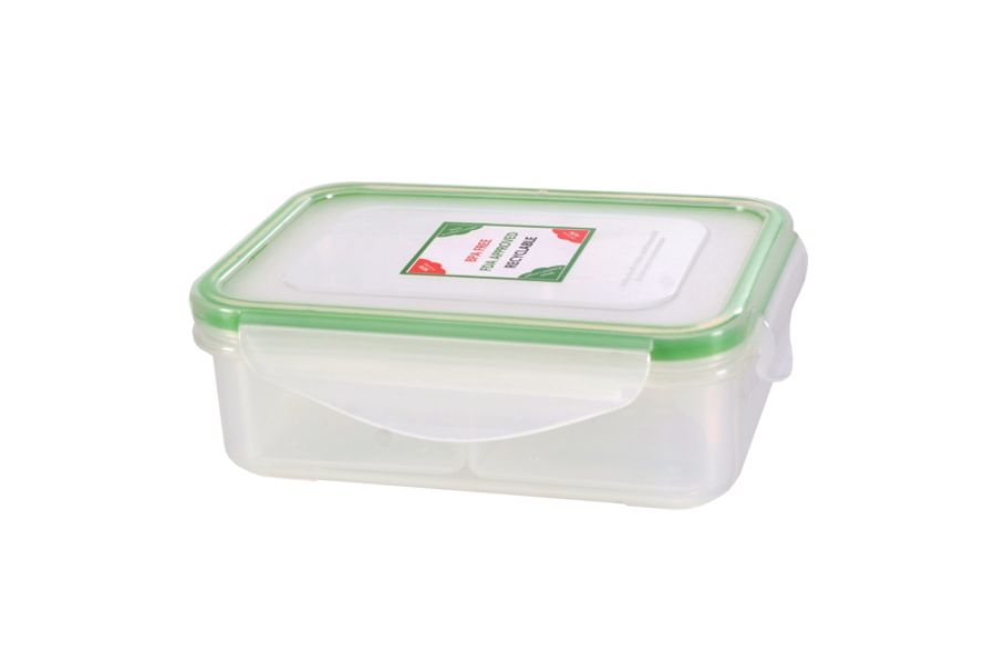 Kinetic Fresh Food Storage Container 12 Oz ClearGreen by Office