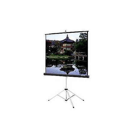 Da-Lite Picture King Portable and Tripod Projection Screen (Black carpeted)