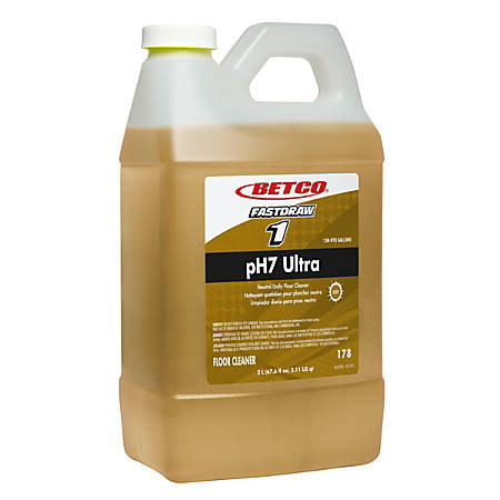 Betco® pH7 Ultra Floor Cleaner, Fastdraw, 67.6 Oz (2-Liter)