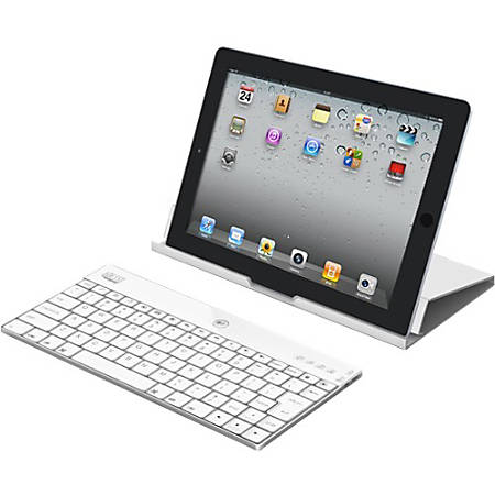 Adesso Compagno X - Keyboard - Bluetooth - US - white