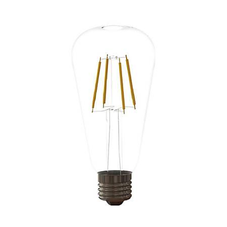 Euri ST19 VST 2001 Series LED Filament Bulb, Dimmable, 430 Lumens, 5 Watt, 2700K/Soft White