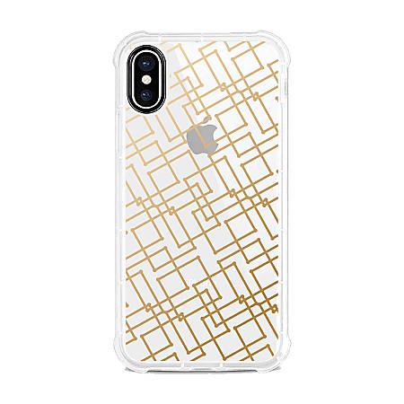 OTM Essentials Tough Edge Case For iPhone® X/Xs, Gold Geo, OP-SP-Z120A