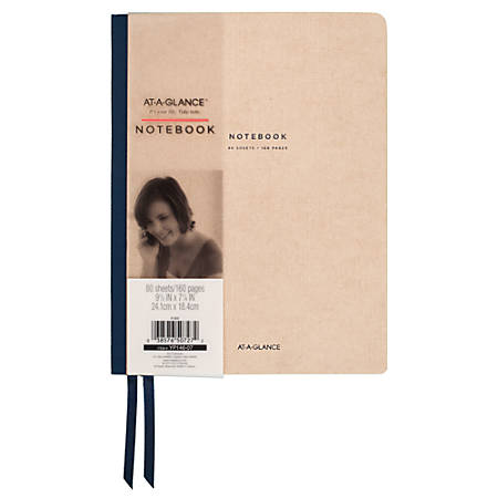 Mead Meeting Notebook Twin Wire - Case Bound - Ruled - 1Each