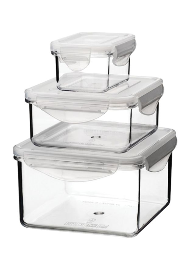 Tritan Food Storage Container Sets 6 Piece Set 6 Oz22 Oz48 Oz