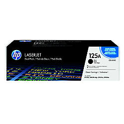 HP 125A Black Original Toner Cartridges