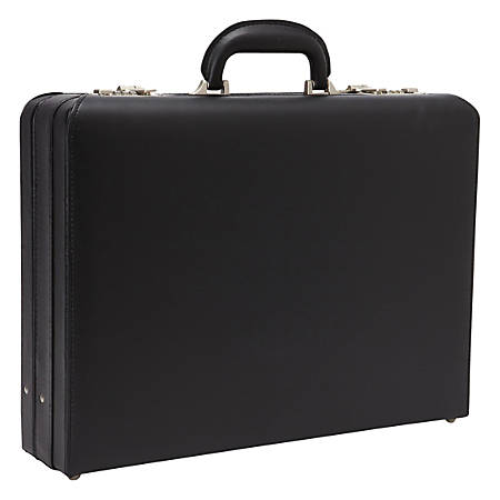 "Heritage Attaché Laptop Case For 17.3"" Laptop, Black"