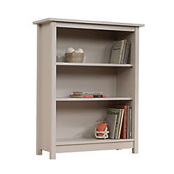 Sauder Cottage 3 Shelf Bookcase Cobblestone