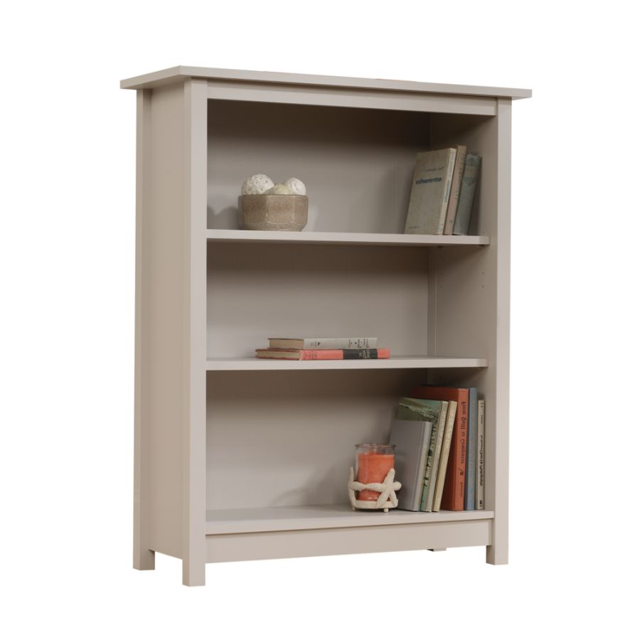 Etonnant Sauder Cottage 3 Shelf Bookcase Cobblestone Gray By Office Depot U0026 OfficeMax