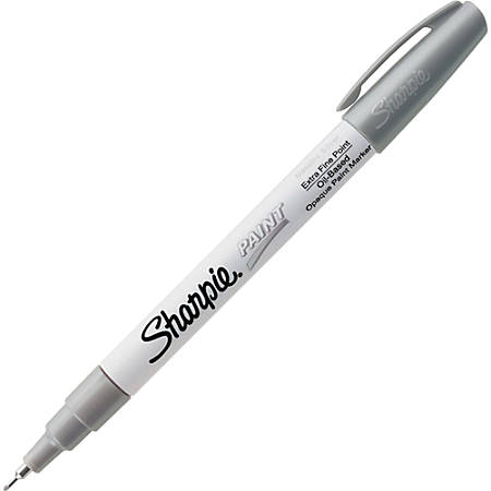 Sharpie Extra Fine Oil Based Paint Marker Metallic Silver Ink Item 584057