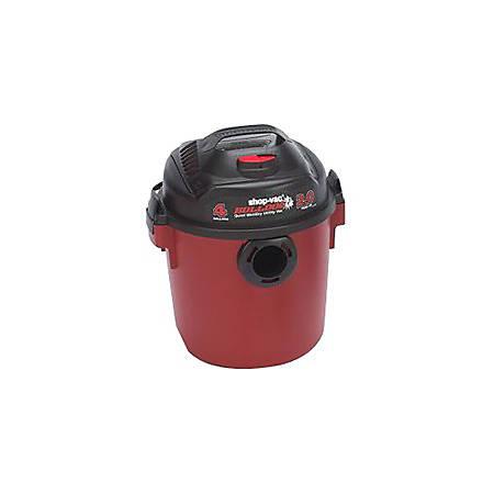 Shop-Vac BullDog Portable Vacuum Cleaner - 1491.40 W Motor - 190 W Air Watts - 4 gal - 6 ft Cable Length - Foam - 920.1 gal/min - AC Supply