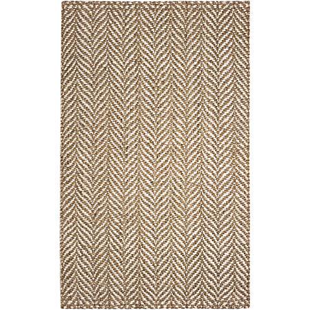 Anji Mountain Sandscape Jute Rug, 4' x 6', Multicolor