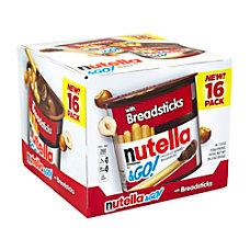 Nutella Go Hazelnut Spread With Breadsticks