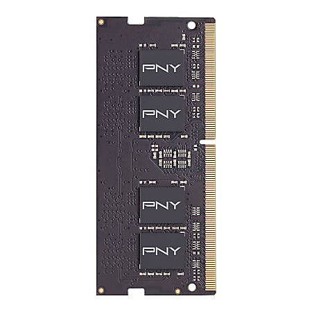 PNY 8GB DDR4 DRAM SoDIMM 2.6GHz Laptop Memory, MN8GSD42666