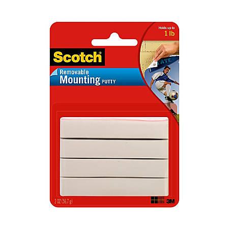 Scotch Adhesive Putty Tape Style 2 Oz Office Depot