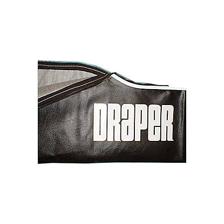 """Draper Carrying Case for Diplomat/R 104"""" and 10ft Projection Screen - Vinyl - Black"""