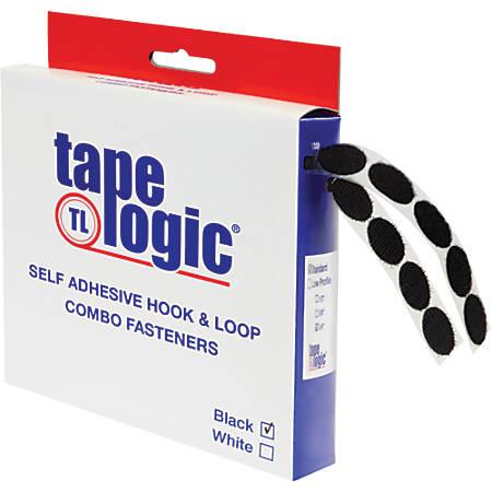 "Tape Logic® Combo Pack, 0.75"" Dots, Black, Pack Of 200"