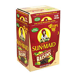 Sun Maid Natural California Raisins 64