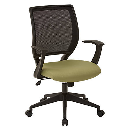 Office Star™ Work Smart Mesh Task Chair, Lily Pad/Black