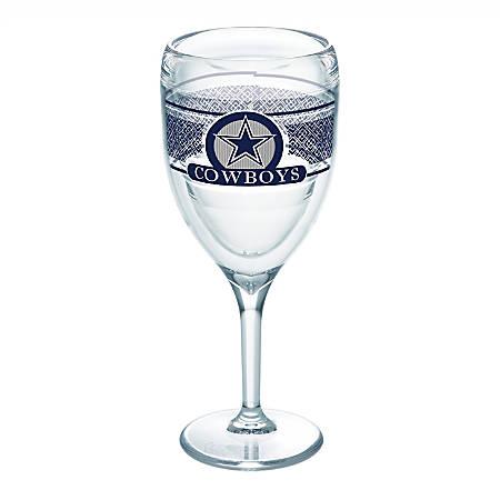 Tervis NFL Select Wine Glass, 9 Oz, Dallas Cowboys