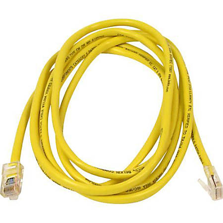 Belkin A3L791-03YLW-50 Cat.5e UTP Patch Cable