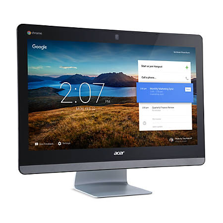 "Acer Chromebase 24 CA24I All-in-One Computer - Celeron 3215U - 4 GB RAM - 16 GB SSD - 23.8"" 1920 x 1080 Touchscreen Display - Desktop"