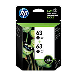 HP 63 Black Ink Cartridge T0A53AN140