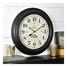 FirsTime Co Luna Wall Clock Oil