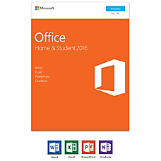 Office Home Student 2016 1 PC