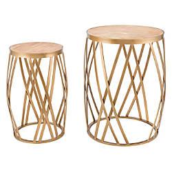 Zuo Modern Criss Cross Nesting Tables