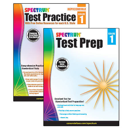 Spectrum® Test Prep And Practice Classroom Kit, Grade 1