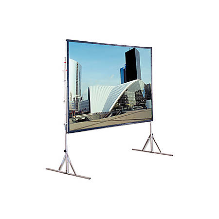 "Draper Cinefold Portable Projection Screen - 72"" x 96"" - Flexible Matt White - 120"" Diagonal"