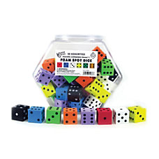Koplow Games Foam Dot Dice 1