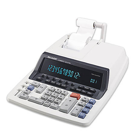 Sharp® QS-2770H Commercial Use Printing Calculator