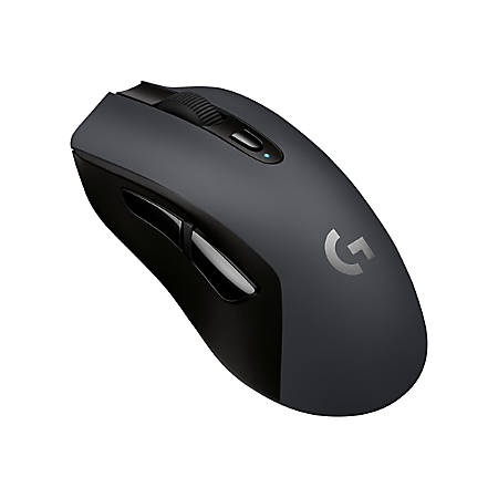 Logitech G603 LIGHTSPEED Wireless Gaming Mouse - Optical - Wireless - Bluetooth/Radio Frequency - Black - USB - 12000 dpi - Scroll Wheel - 6 Button(s) - Right-handed Only