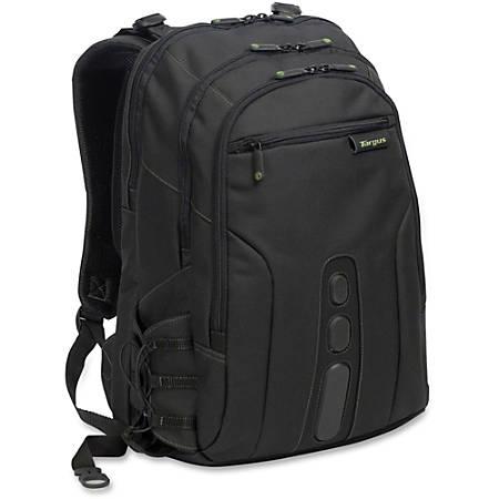 "Targus Spruce EcoSmart Notebook Backpack - Polyester - 18.8"" Height x 13"" Width x 8.3"" Depth"