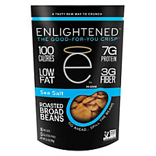Enlightened Broad Bean Crisps Sea Salt