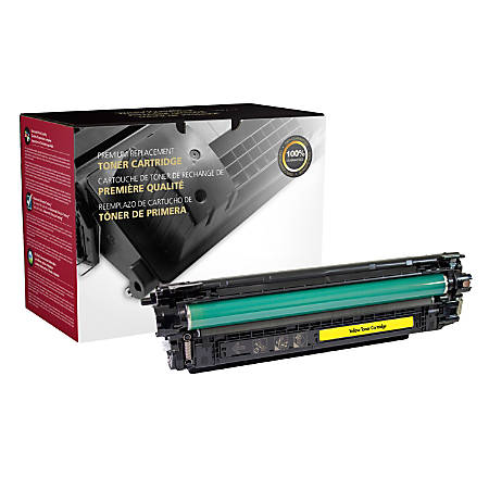 Clover Technologies Group 200940P Remanufactured Toner Cartridge Replacement For HP 508A Yellow