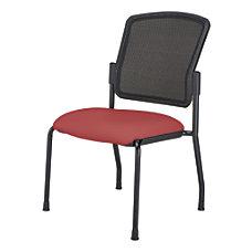 WorkPro Spectrum Armless Guest Chair RedBlack