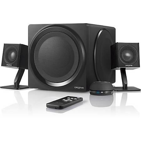 Creative T4 Bluetooth Wireless 2.1 Speaker System - Wireless Speaker(s) - Black