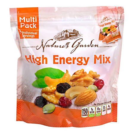 NATURE'S GARDEN High Energy Mix Multipack, 7 Count, 6 Pack