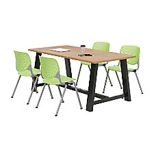 KFI Studios Midtown Table With 4