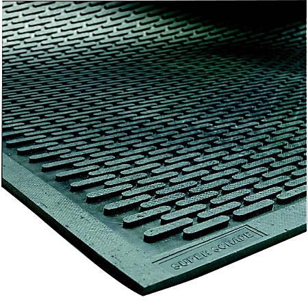 SuperScrape Floor Mat, 4' x 8', Black