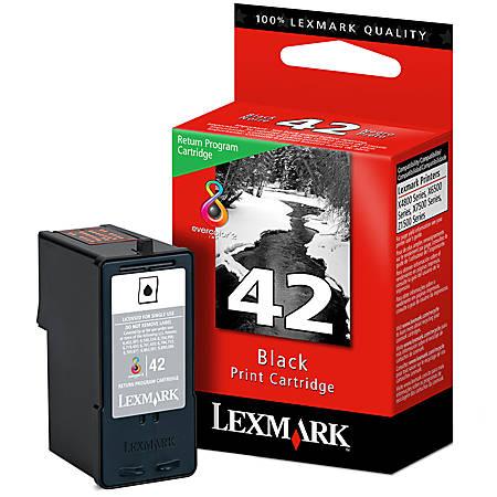 Lexmark™ 42 Black Ink Cartridge