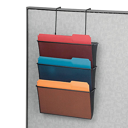 Fellowes® Partitions Additions™ 50% Recycled File Pocket, Black
