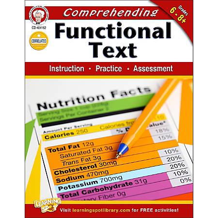 Mark Twain Comprehending Functional Text Workbook, Grades 6-8